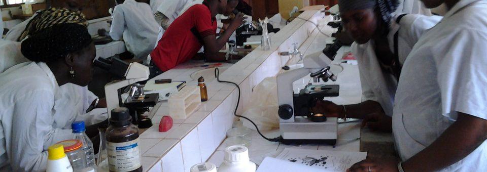 etudiant labo microbilogie
